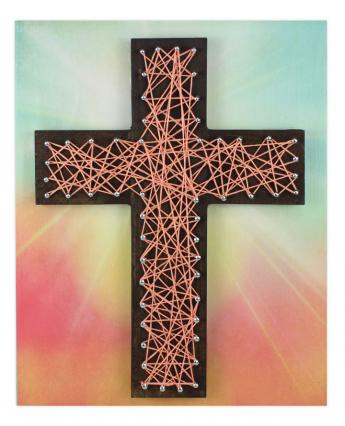 string art cross crafts direct. Black Bedroom Furniture Sets. Home Design Ideas