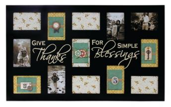 Give Thanks Collage Frame