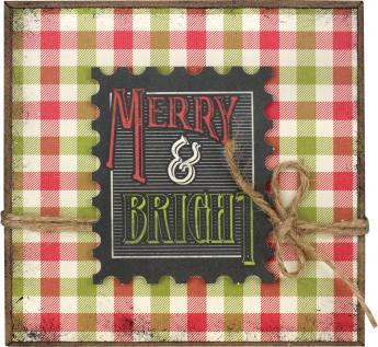 Merry & Bright 5x5 Tile