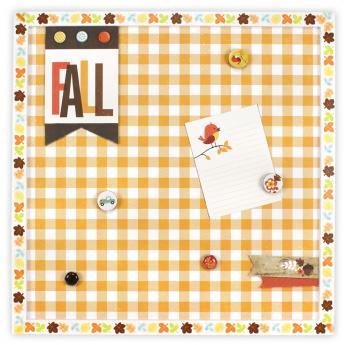 Fall Magnet Board