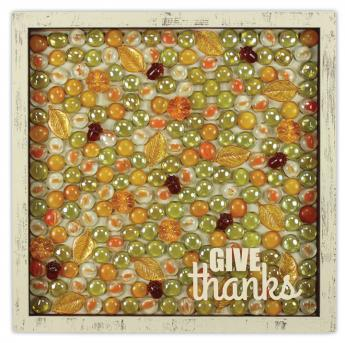Fall Gems Give Thanks Shadowbox