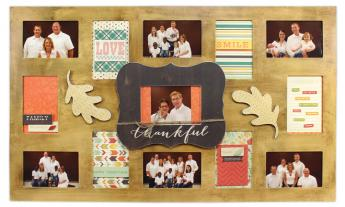 Thankful Collage Frame