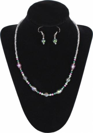 Spring Garden Necklace & Earrings