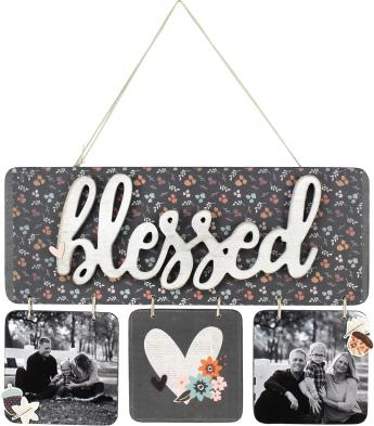Blessed Hanging Plaque