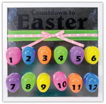 Countdown To Easter Frame