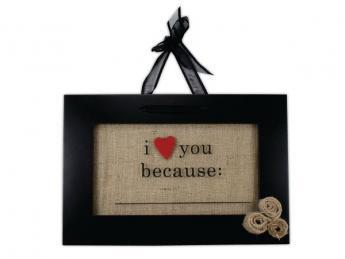 I Love You Because Float Frame Crafts Direct