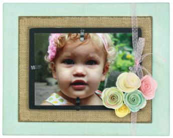 Floral Photo Layered Frame