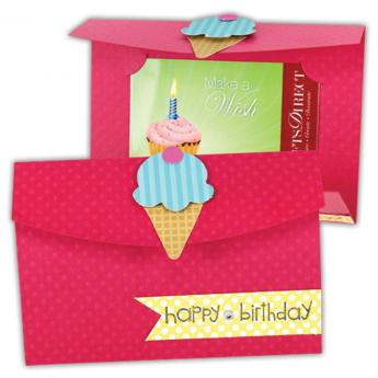 Cupcake/Cone Gift Card Holder