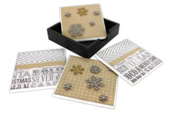 Gold & Silver Coasters