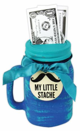 My Little Stache Jar