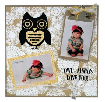 Owl Always Love You Painting Panel