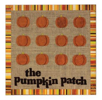 The Pumpkin Patch Wood Panel