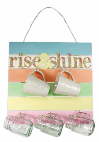 Rise & Shine Pallet Sign
