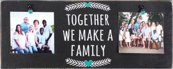 Together we Make a Family Wall Plaque