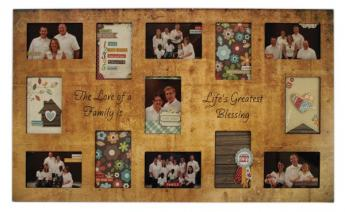 Life's Greatest Blessing Collage Frame