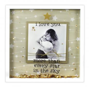 I Love You More 12x12 Shadowbox