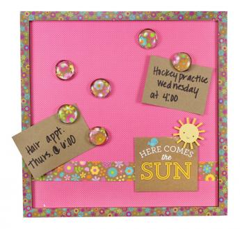 Here Comes The Sun Doodlebug Memo Board