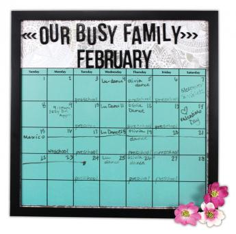 Our Busy Family Calendar