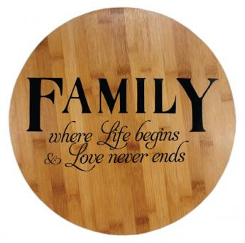 Family Lazy Susan