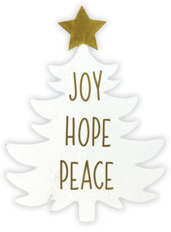Joy Hope Peace Tree