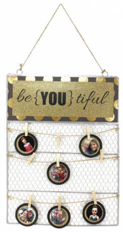 Be-YOU-tiful Tin Top Chicken Wire