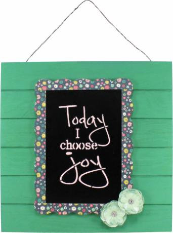 Choose Joy Pallet Plaque