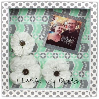 I Love My Daddy 8x8 Shadowbox