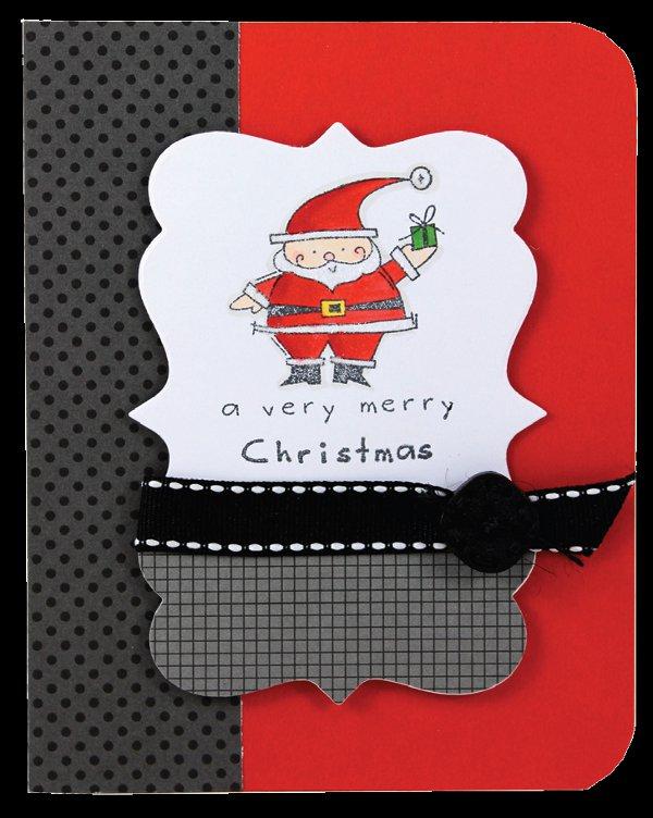 Santa Merry Christmas Card Crafts Direct