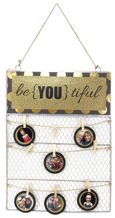 Be-YOU-tiful Tin Top Chicken Wire | Crafts Direct