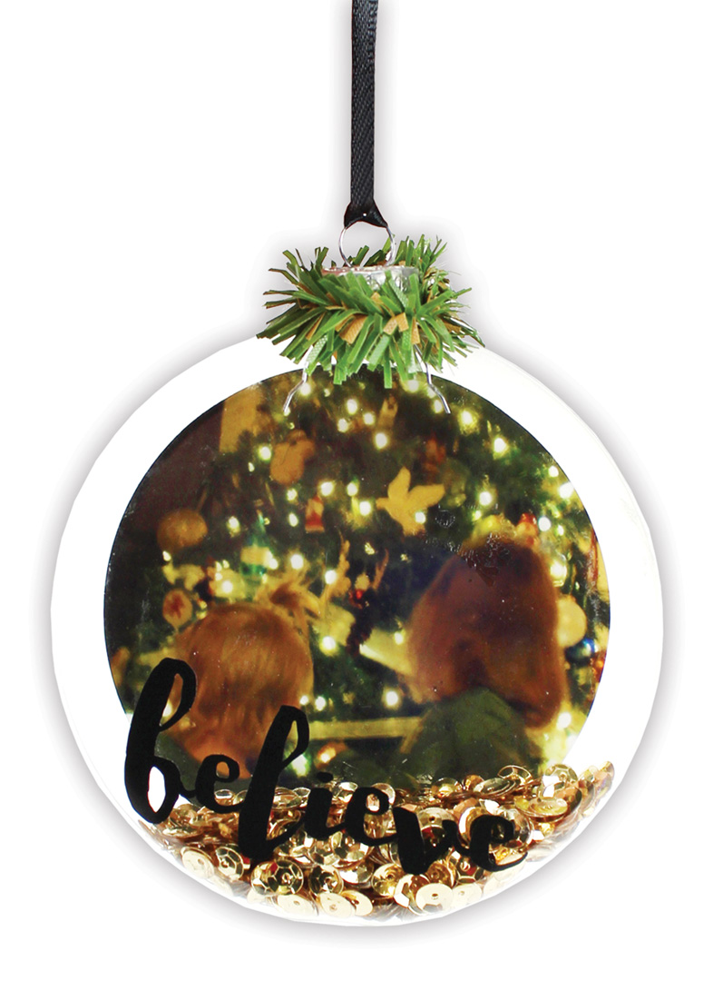 Believe flat disc ornament crafts direct for Glass discs for crafts