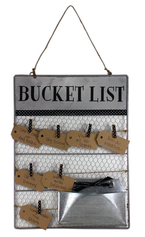 Bucket List Wire Board Crafts Direct