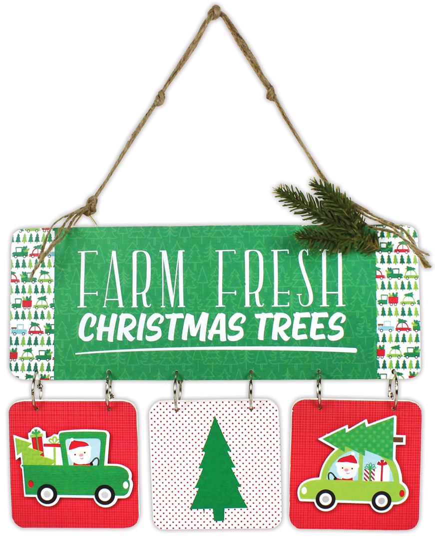 Christmas Tree Delivery Sign | Crafts Direct