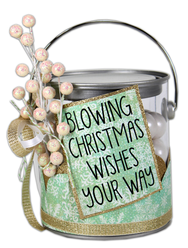 Christmas Wishes Paint Can Crafts Direct