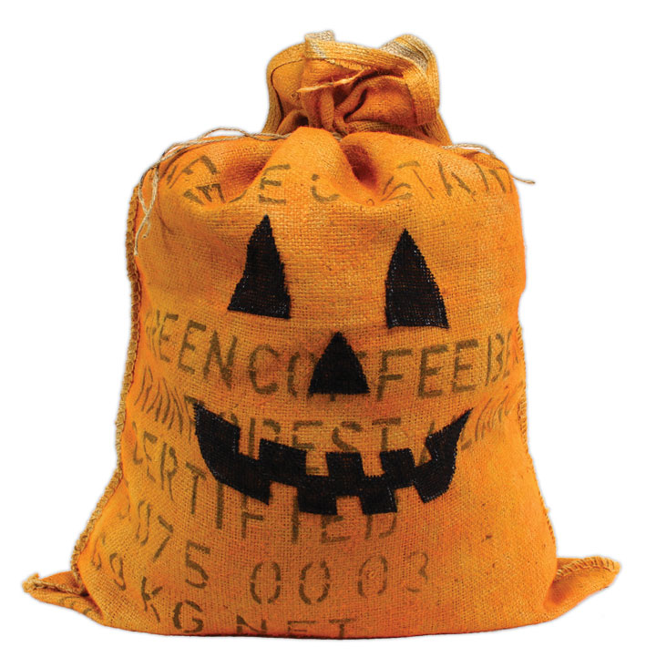 Burlap Coffee Bag Pumpkin Crafts Direct