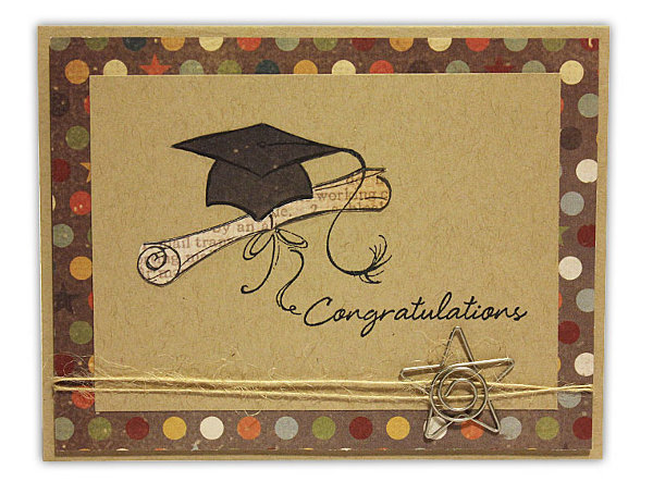 Congratulations Diploma Card Crafts Direct