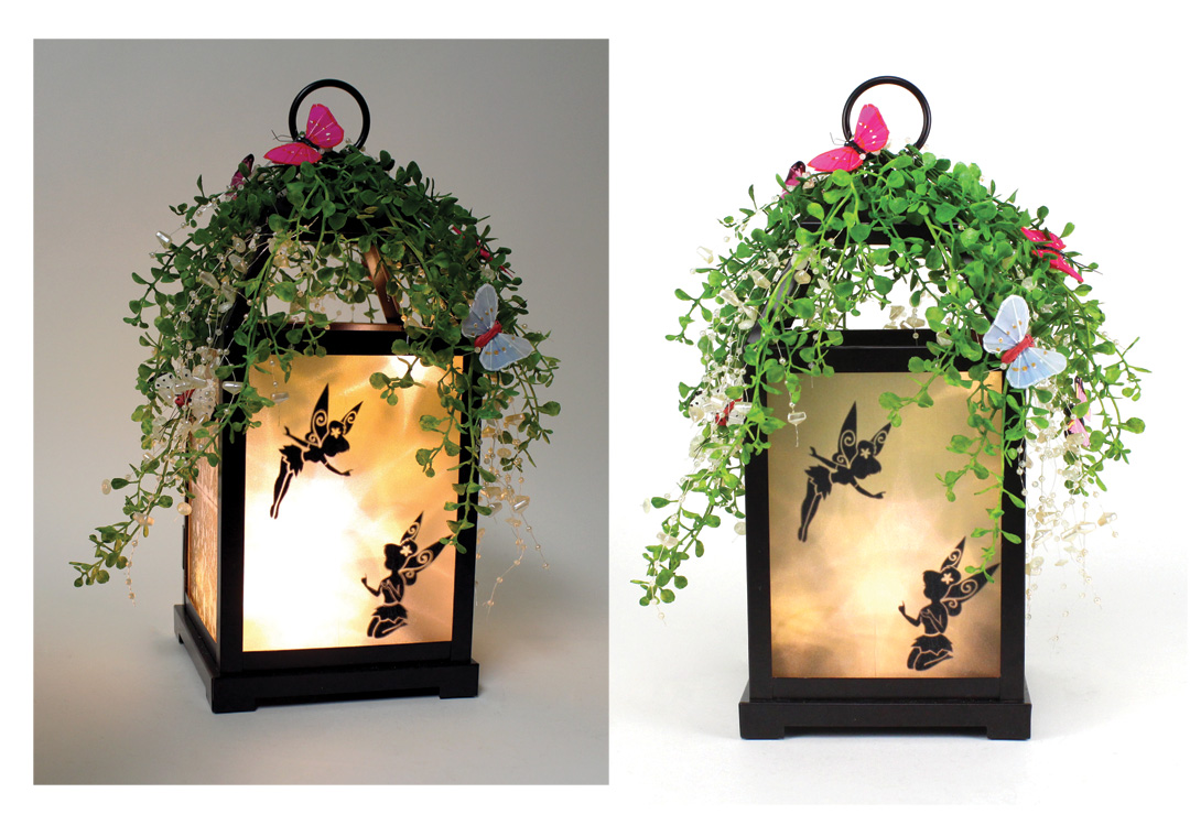 Fairy Silhouette Lantern Crafts Direct