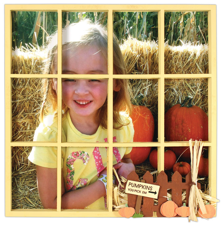Fall Photo Divided Tray Crafts Direct