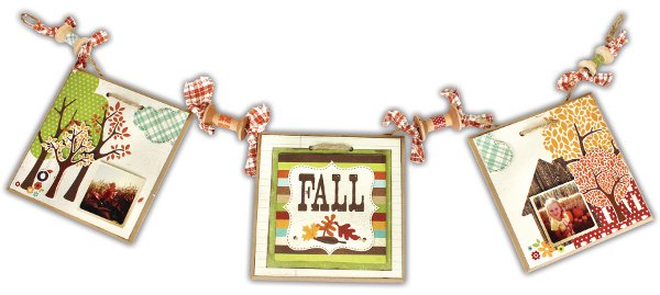 Fall 5x5 Tile Banner Crafts Direct