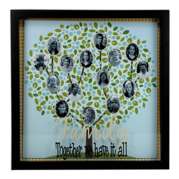 Family Tree 12x12 Shadow Box Crafts Direct