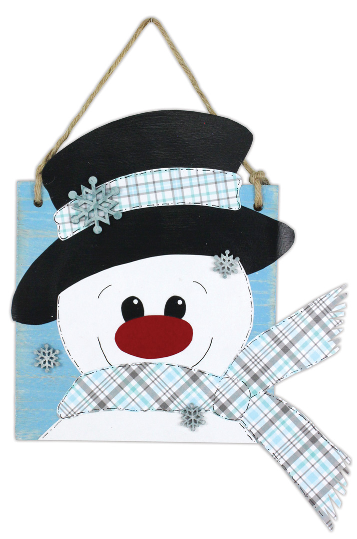 Frosty Blue Snowman Crafts Direct
