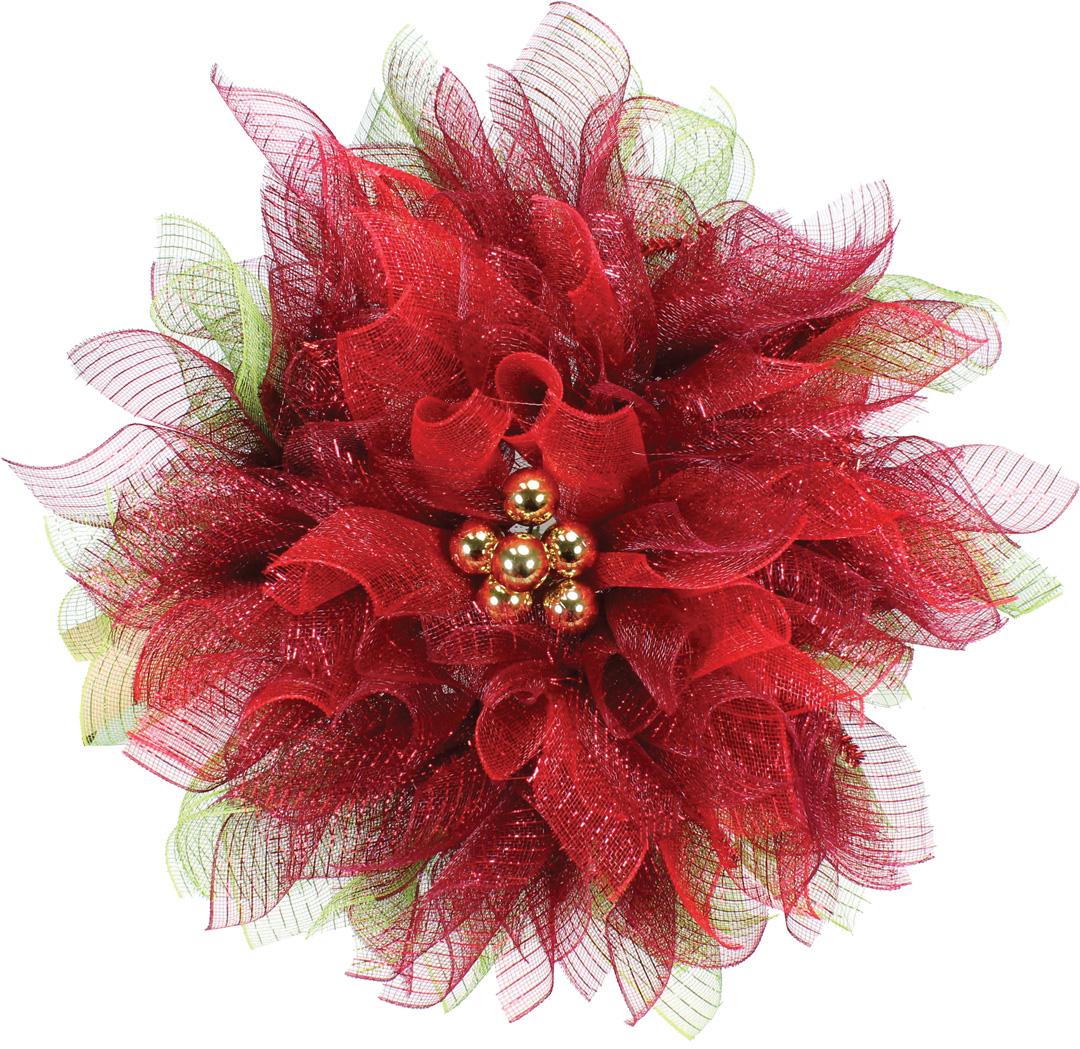 Wire Ribbon Wreath
