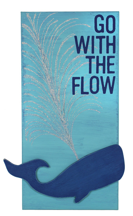 Go With The Flow Canvas Crafts Direct
