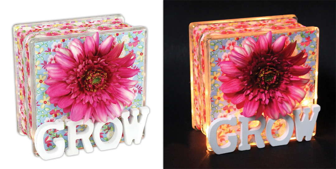 Grow Small Glass Block Crafts Direct