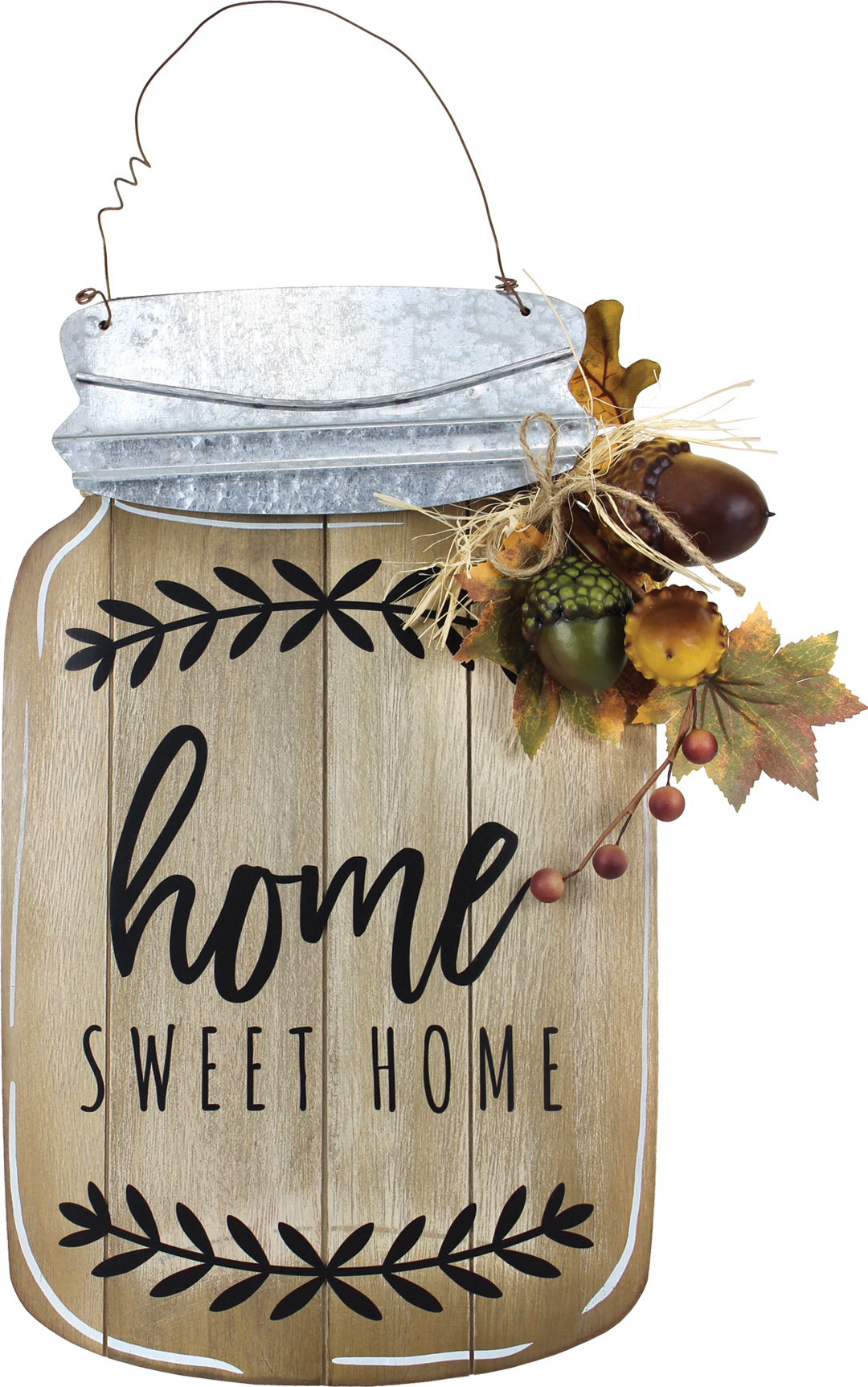 Home Sweet Home Mason Jar Plaque Crafts Direct