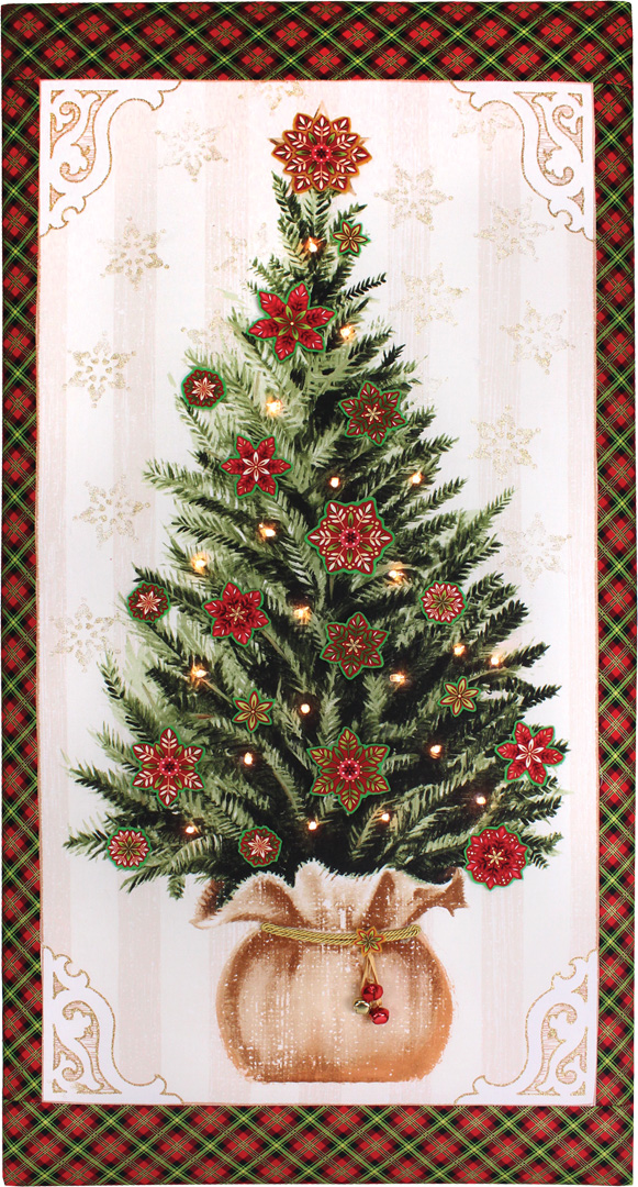 Lighted Christmas Tree Canvas Crafts Direct