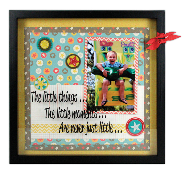 Little Moments 12x12 Shadow Box Crafts Direct