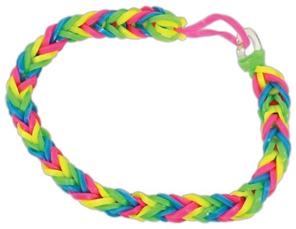 Rubber band bracelets fishtail patterns