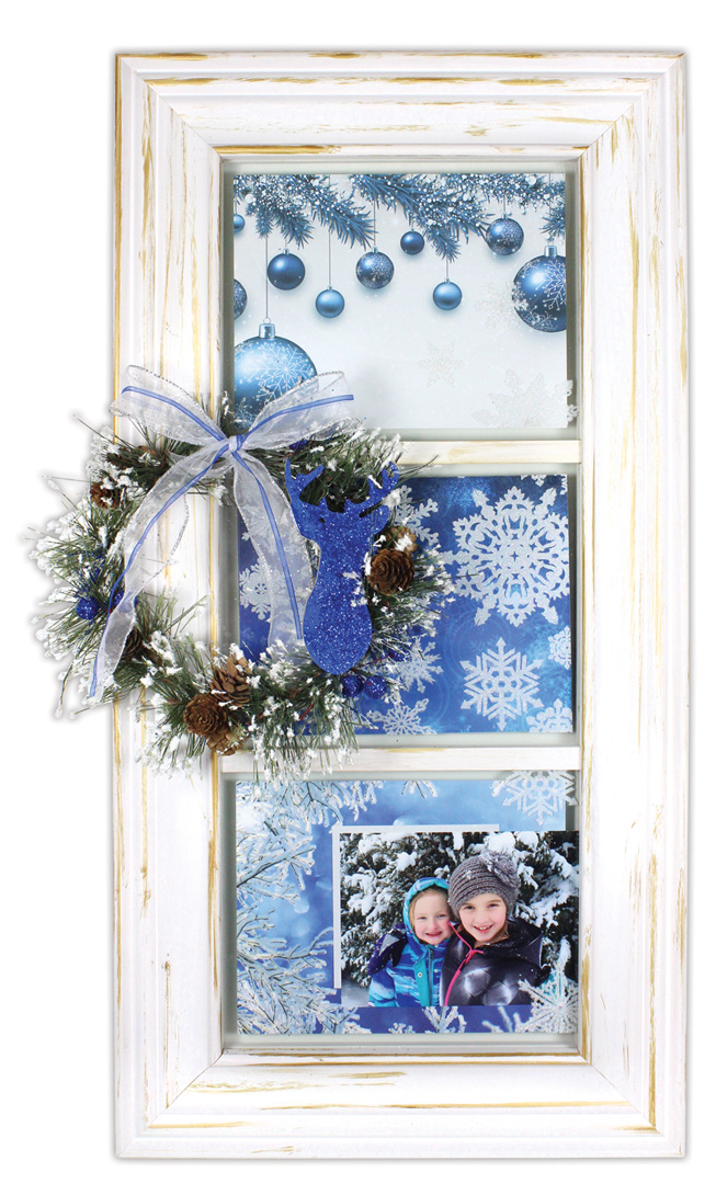 Magical winter 3 pane window crafts direct for 2 pane window