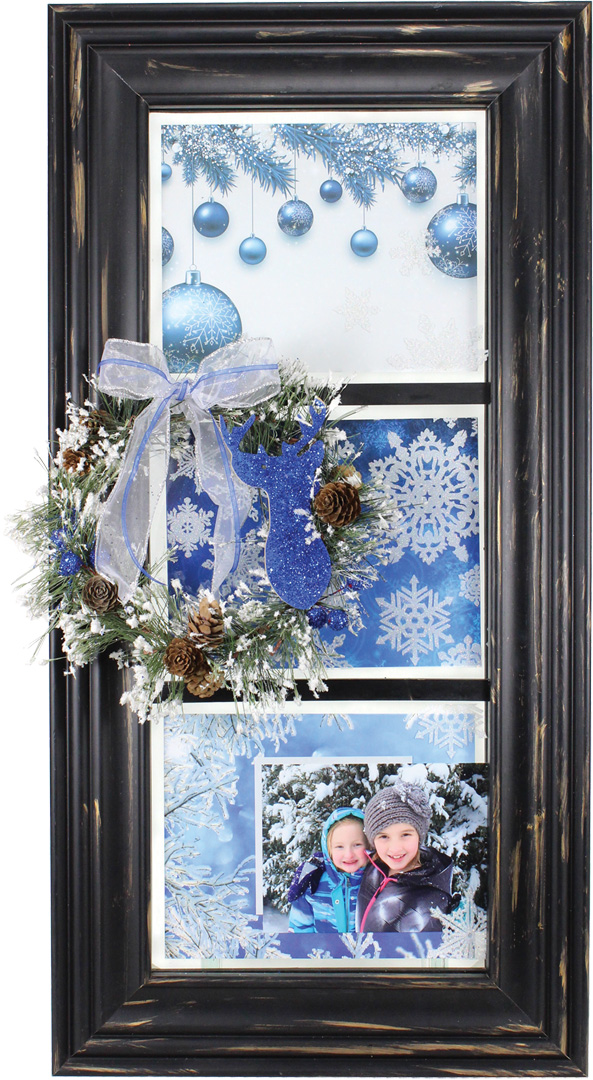 Magical Winter 3 Pane Window Crafts Direct