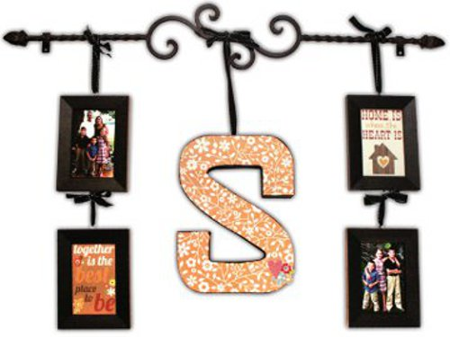 Metal Rod With Initial & Frames | Crafts Direct